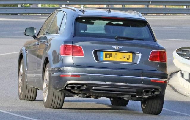 Scoop : derniers réglages pour le Bentley Bentayga diesel
