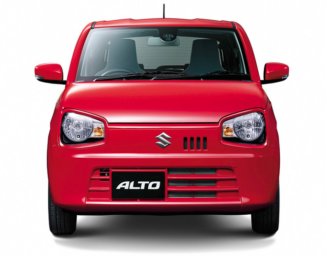 Voici la Suzuki Alto japonaise