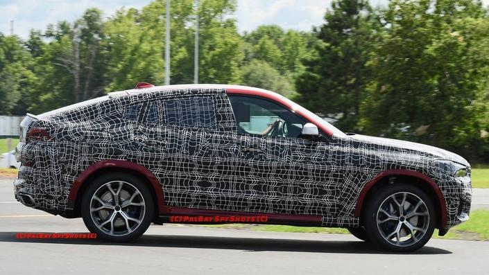 Le futur BMW X6 se montre