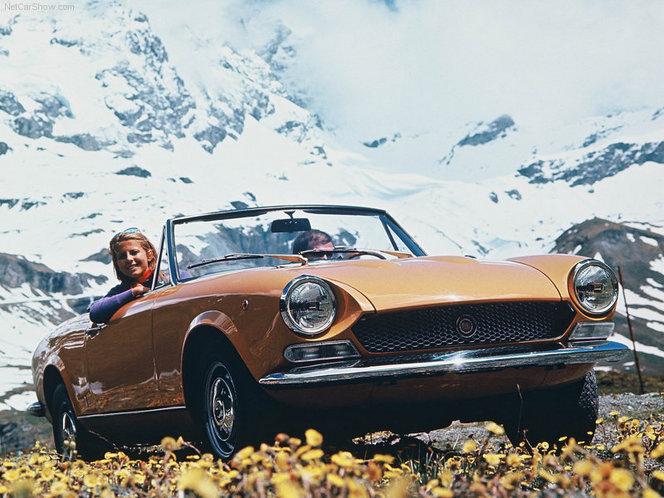 Fiat a enregistré les noms 124 et 124 Spyder