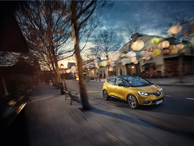 Mondial de Paris 2016 - Renault Scenic: enfin beau!
