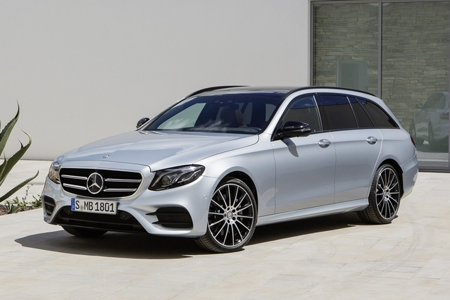 Mondial de Paris 2016 – Mercedes Classe E break : technologique