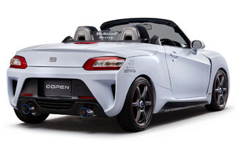 Tokyo Auto Salon 2015 : la Daihatsu Copen se dévergonde