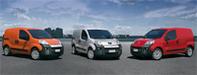 VUL: présentation des triplés Citroën Nemo, Fiat Fiorino et Peugeot Bipper