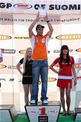 Metzeler s'impose à l'étape finlandaise du championnat du monde 2009 d'Enduro.