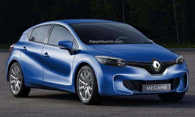 La future Renault Megane imaginée avec des élements du concept Eolab