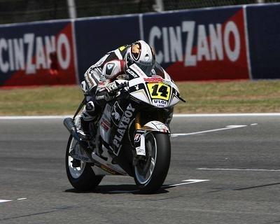 Moto GP - Test Catalogne: Gros travail sur le châssis pour Randy