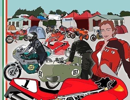 Trofeo Rosso: la moto italienne au Vigeant (86) ce week-end.