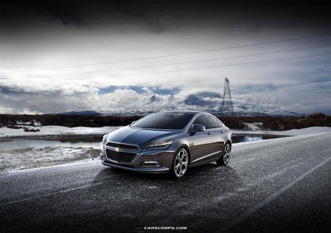 Surprise : à bord de la future Chevrolet Cruze