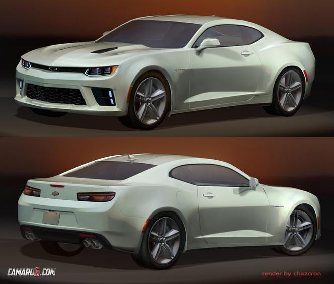 Future Chevrolet Camaro : comme ça ?