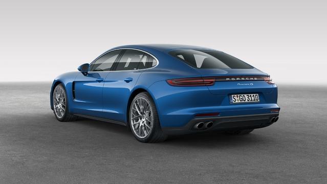 Mondial de Paris 2016 - Porsche Panamera: sportivement routière
