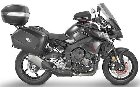 Givi: des accessoires pour fringuer votre Yamaha MT10