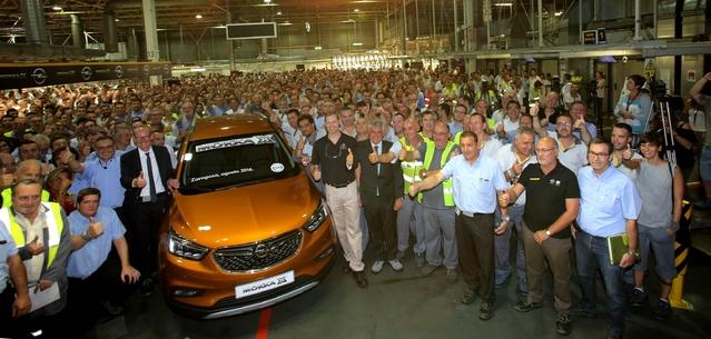 Opel lance la production du crossover Mokka X