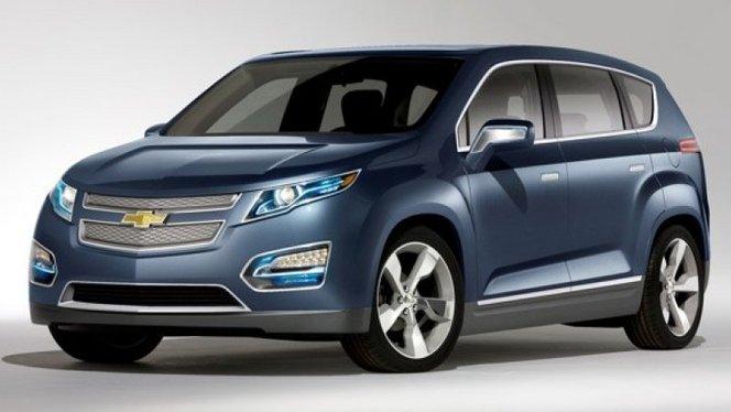 Chevrolet dépose le nom Crossvolt