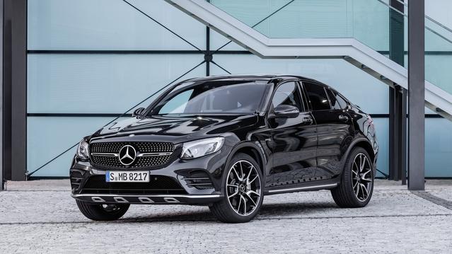Mondial de Paris 2016 - Mercedes GLC 43AMG Coupé : suite logique
