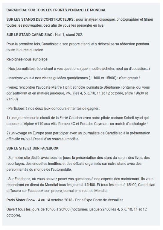 DS X E-Tense: bi-goût - En direct du Mondial de Paris 2018