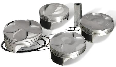 Vertex: nouveaux kits pistons Replica pour la route