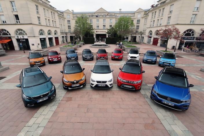 Marché français: il y a 40 SUV parmi les 100 meilleures ventes