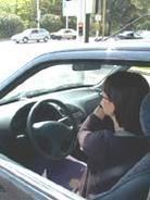 """""""Comme il est difficile de conduire avec sa mère à ses côtés"""""""