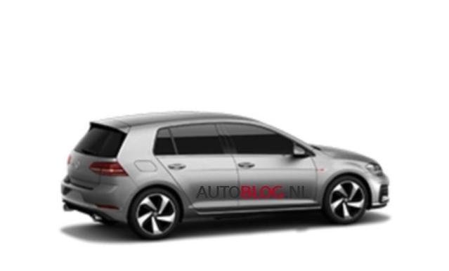 Surprise : est-ce bien la Volkswagen Golf 7 restylée ?
