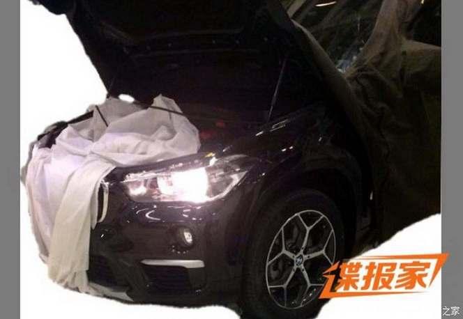 Le prochain BMW X1 montre le bout de son nez