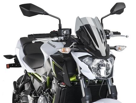Puig propose une bulle à la Kawasaki Z650