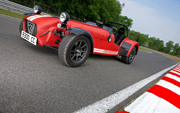 Essai - Caterham R300 Superlight : Superlight, Super Brillante