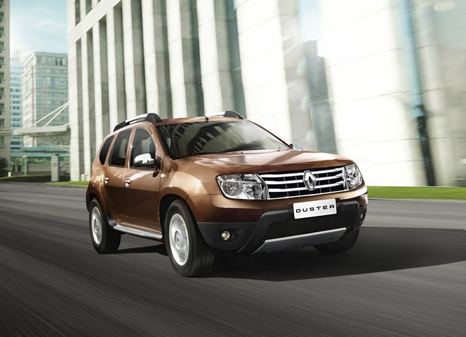 Renault Duster: maintenant (luxueux) en Inde
