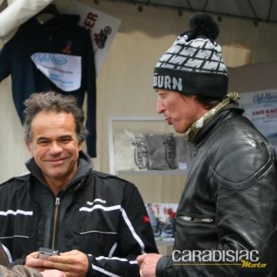 Bertrand Bussillet en discution avec Philippe Monneret (photo-jjcholot)