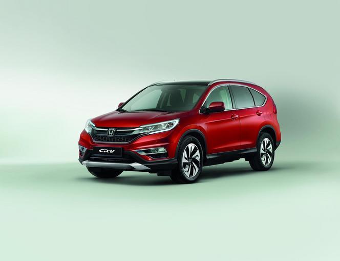 Honda dévoile le restylage du CRV avec un nouveau moteur