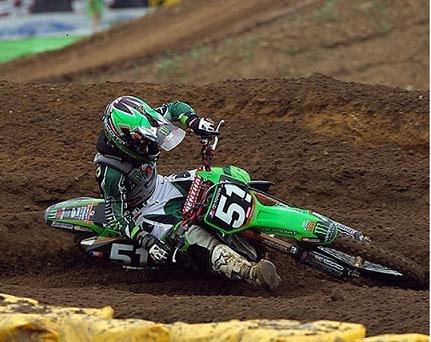 Deuxième manche du motocross des Nations