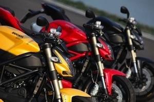 Ducati: une nuit spéciale pour la Streetighter 848