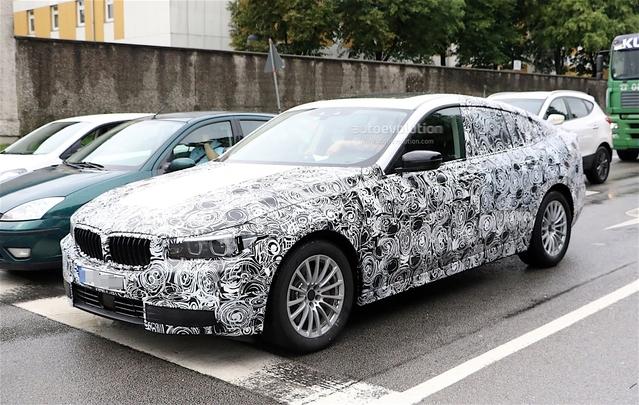 Scoop : la BMW Série 5 GT sous la pluie