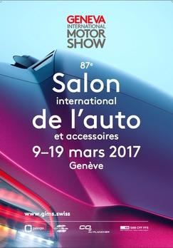 Salon de Genève: voici l'affiche de l'édition 2017