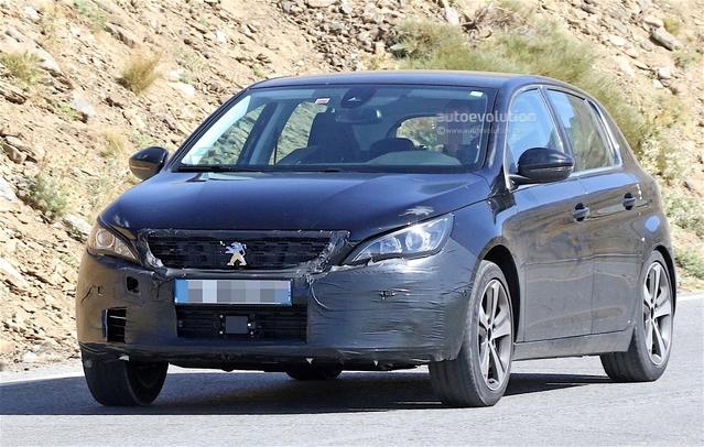 Surprise : la Peugeot 308 prépare sa rhinoplastie