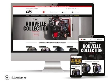 Dafy dépoussière son site internet