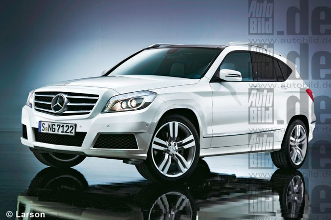 Futur Mercedes GLK: comme ça?
