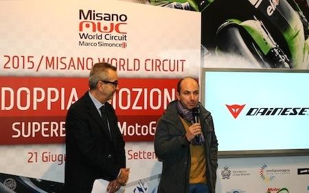 Dainese et le Misano World Circuit deviennent partenaires