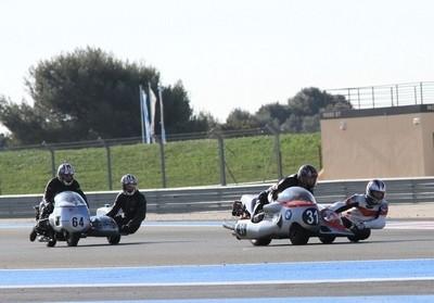 Les side-cars font leur retour sur le circuit du Castellet.