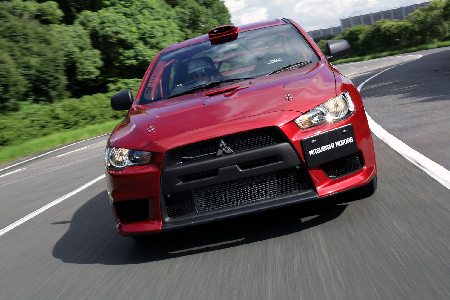 Mitsubishi Lancer Evolution X - version WRC Groupe N