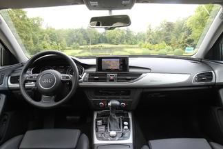 Planche de bord de l'Audi A6