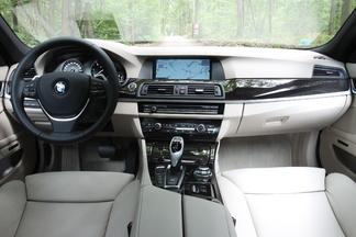 Planche de bord de la BMW Serie 5P