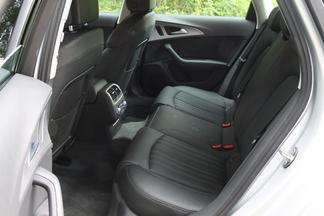 Places arrière de l'Audi A6
