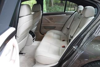 Places arrière de la BMW Serie 5