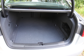 Coffre de l'Audi A6