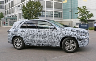 Surprise : le SUV Mercedes GLE en balade