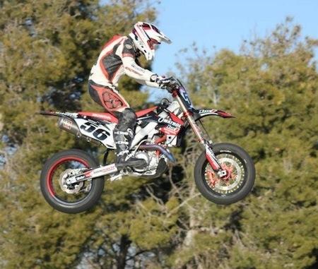 Supermotard 2012: le team Luc1 reprend ses marques en Espagne