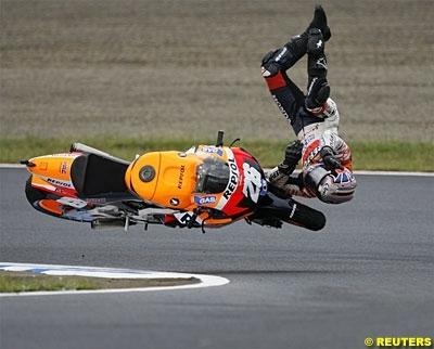 Moto GP: pas de fracture pour Pedrosa