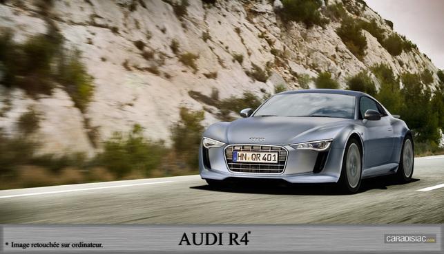 Audi : après la R8, voici la R4 !
