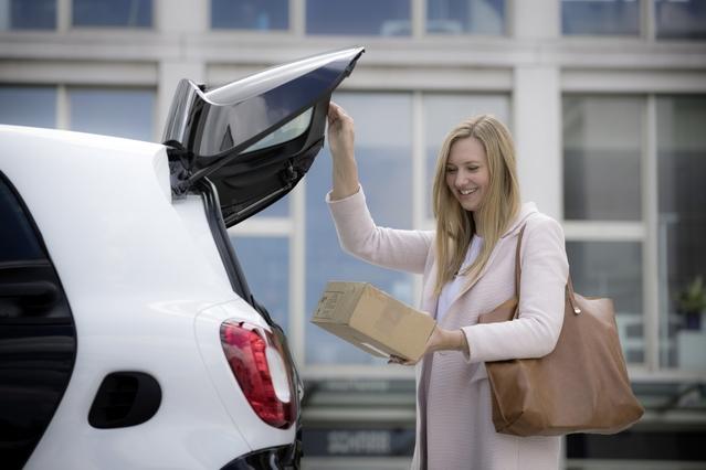 Recevoir un colis depuis ou dans sa voiture, c'est possible
